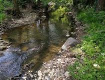 Na predaj krásny veľký pozemok s potokom – realitná kancelária Xemar