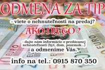 Na prenájom stavebný pozemok medzi obcami Slovenská Ľupča a Lučatín, okres Banská Bystrica – realitná kancelária Xemar