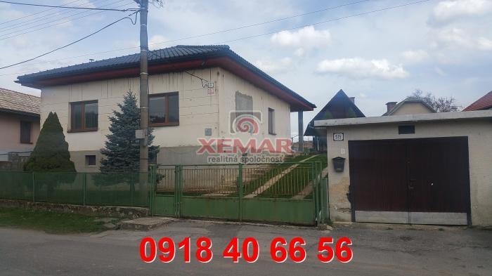 eba627d89 ... Na prenájom rodinný dom s veľkým pozemkom na Budči – realitná  kancelária Xemar ...