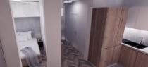 Exkluzívne ponúkame na predaj 1 izb. byt s balkónom v novostavbe Arbora vo Zvolene, časť Podborová – realitná kancelária Xemar